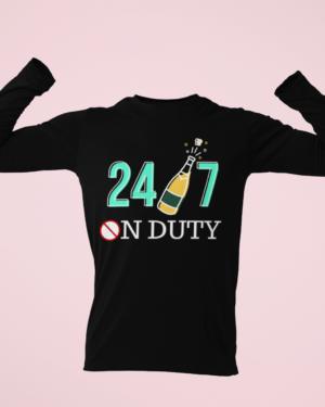 24×7 on duty – Full Sleeve