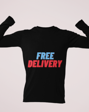 Free delivery – Full Sleeve