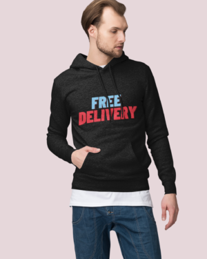 Free delivery – Hoodie