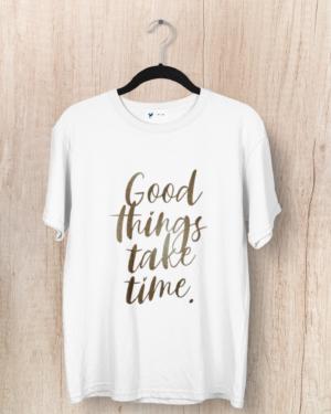 Good things take time – Women