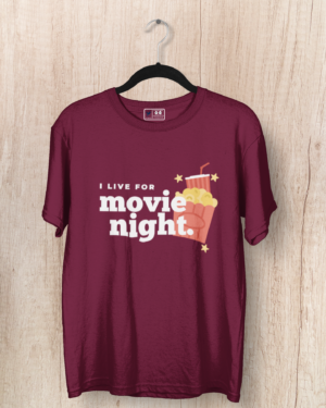 I live for a movie night – Women