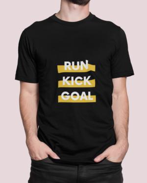 Run kick goal