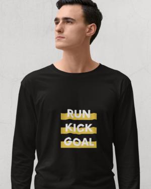 Run kick goal – Full Sleeve