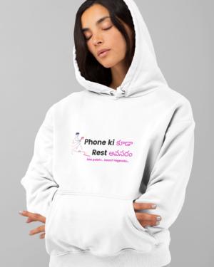 Phone Ki Rest – Hoodie