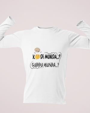 Kodi munda..? guddu munda..? – Full Sleeve