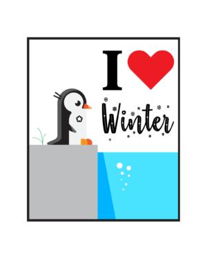 I love winter – Full Sleeve