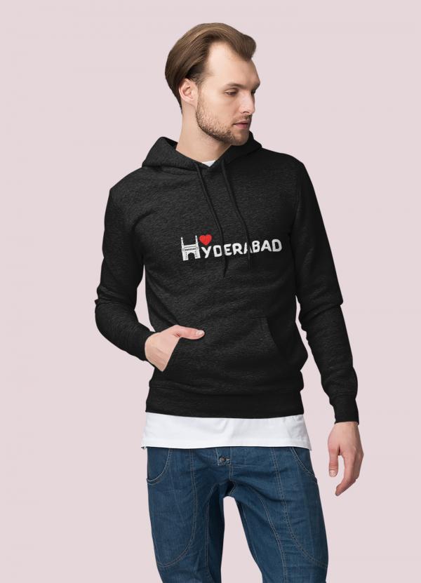 Hydrabad love Hoodie