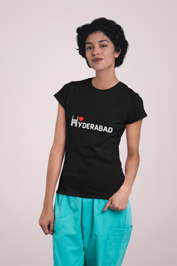 Hydrabad lovet shirt Women