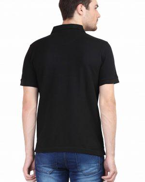 Plain Polo T-Shirt – Black